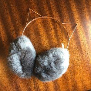LC Lauren Conrad Cat Ear Earmuffs